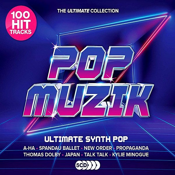 Постер к Pop Muzik: Ultimate Synth-Pop Anthems (2019)