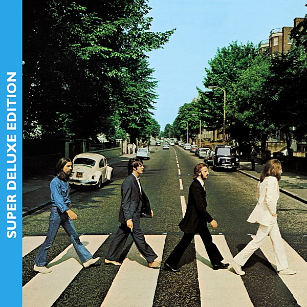 Постер к The Beatles - Abbey Road: 50th Anniversary [Super Deluxe Edition] 3CD (2019)
