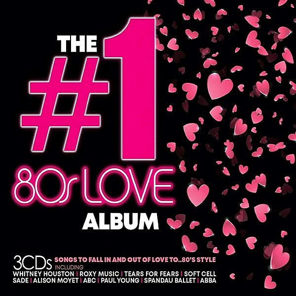 Постер к The #1 80s Love Album (2019)