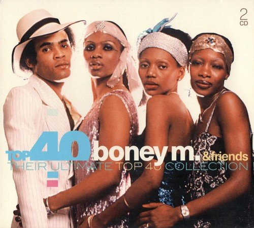 Постер к Top 40 Boney M. & Friends - Their Ultimate Top 40 Collection (2017) MP3