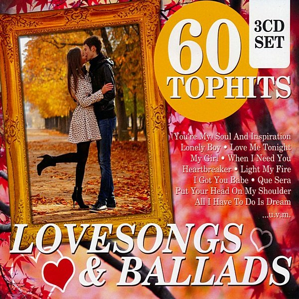 Постер к 60 Top Hits: Lovesongs & Ballads (2014)