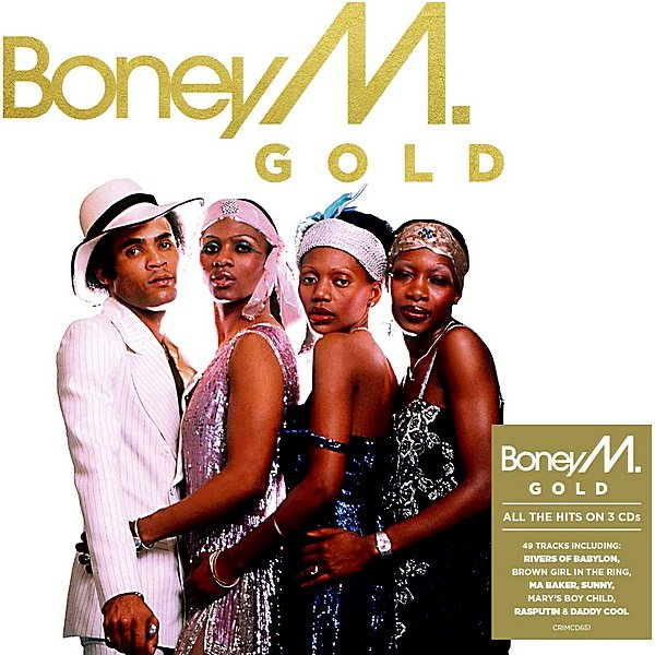 Boney M. - Gold. 3CD (2019)
