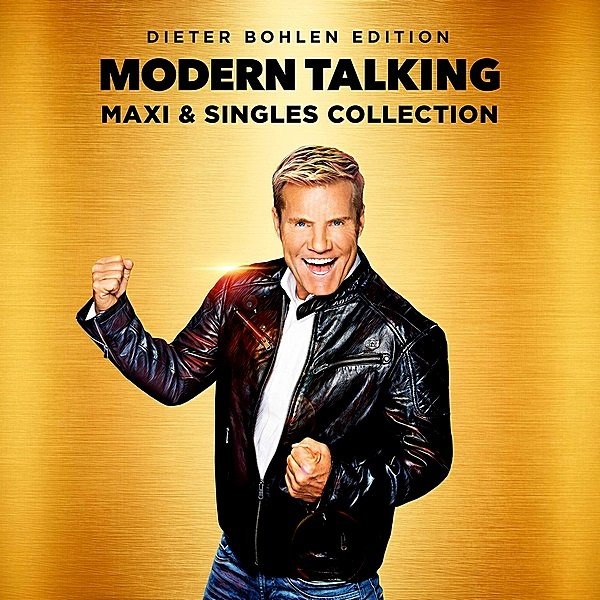 Постер к Modern Talking - Maxi And Singles Collection (2019)