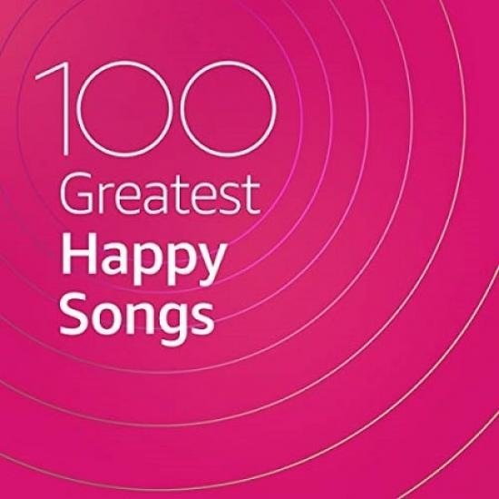 Постер к 100 Greatest Happy Songs (2020) MP3