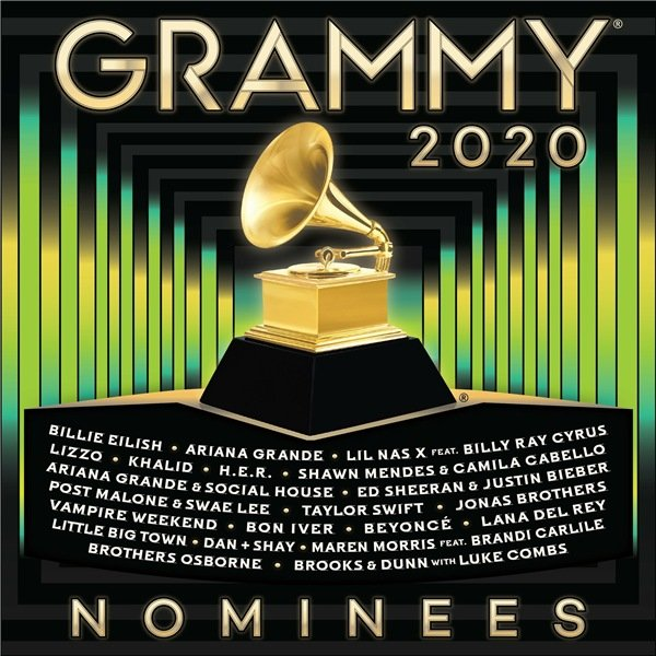 Постер к 2020 Grammy Nominees (2020)