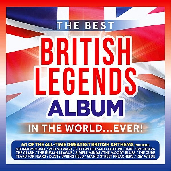 Постер к The Best British Legends Album In The World... Ever! (2020)
