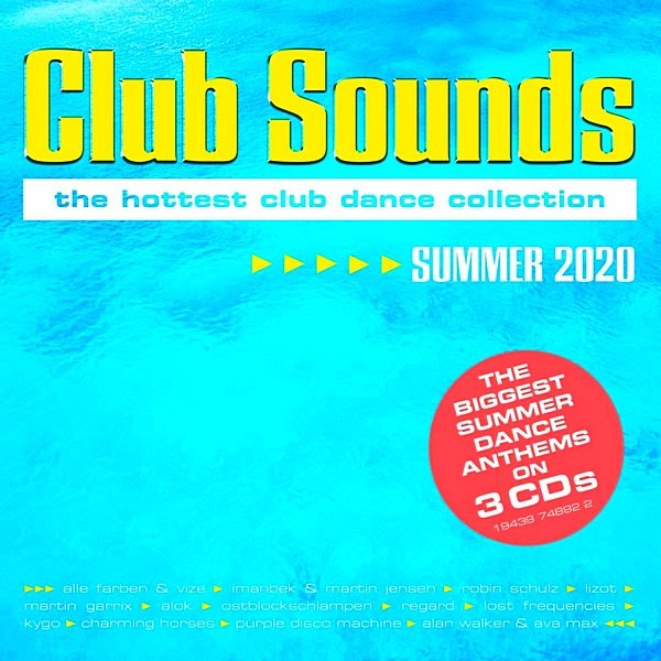 Постер к Club Sounds Summer (2020)