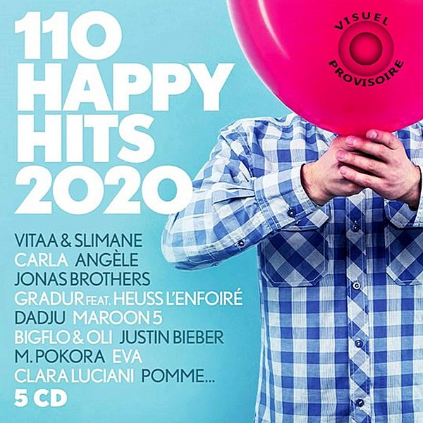 Постер к 110 Happy Hits (2020)
