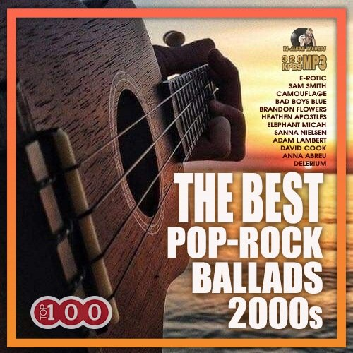Постер к The Best Pop Rock Ballads 2000s (2021)